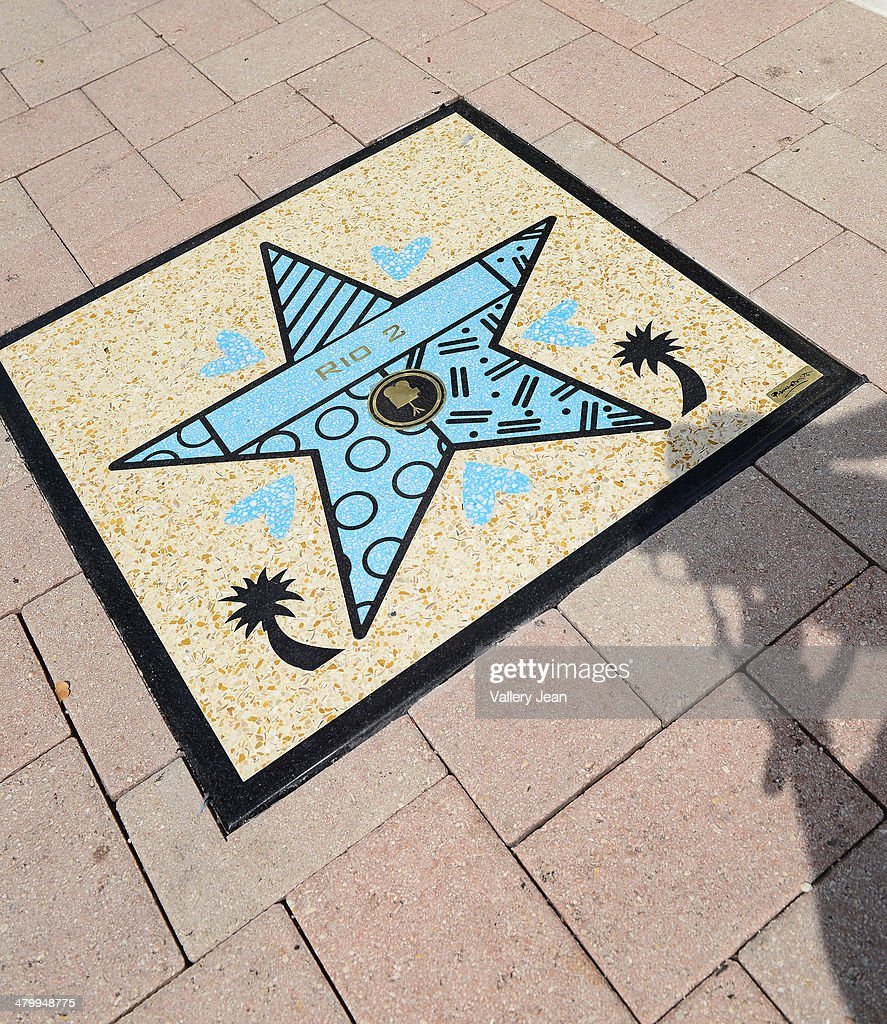 General view during Miami Walk Of Fame unveiling at Bayside Marketplace on March 21, 2014 in Miami, Florida.