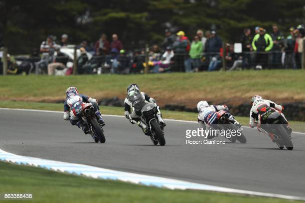 A general view during Moto3 free practice for the 2017 MotoGP of Australia at Phillip Island Grand Prix Circuit on October 20 2017 in Phillip Island...