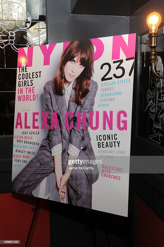 General view during NYLON + Sanuk celebrate the October 'It Girl' issue with cover star Alexa Chung at La Cenita on October 8, 2013 in New York City.