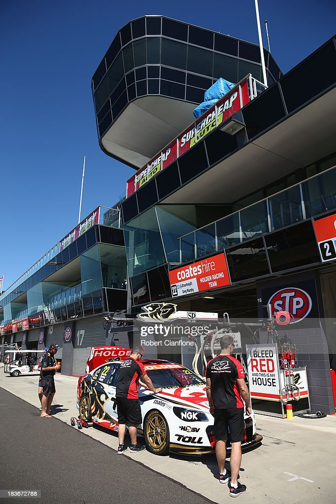 A general view during previews ahead of the Bathurst 1000, which is round 11 of the V8 Supercars Championship Series at Mount Panorama on October 9, 2013 in Bathurst, Australia.