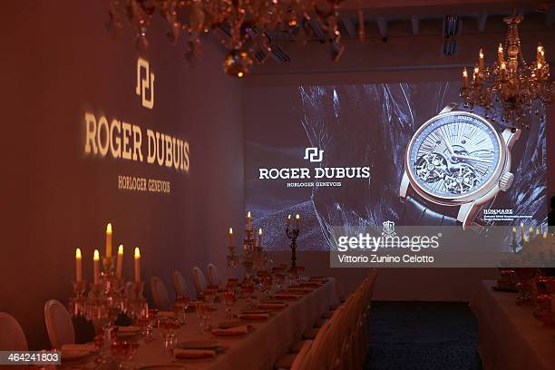 General view during Roger Dubuis event during the SIHH 2014 on January 21 2014 in Geneva Switzerland