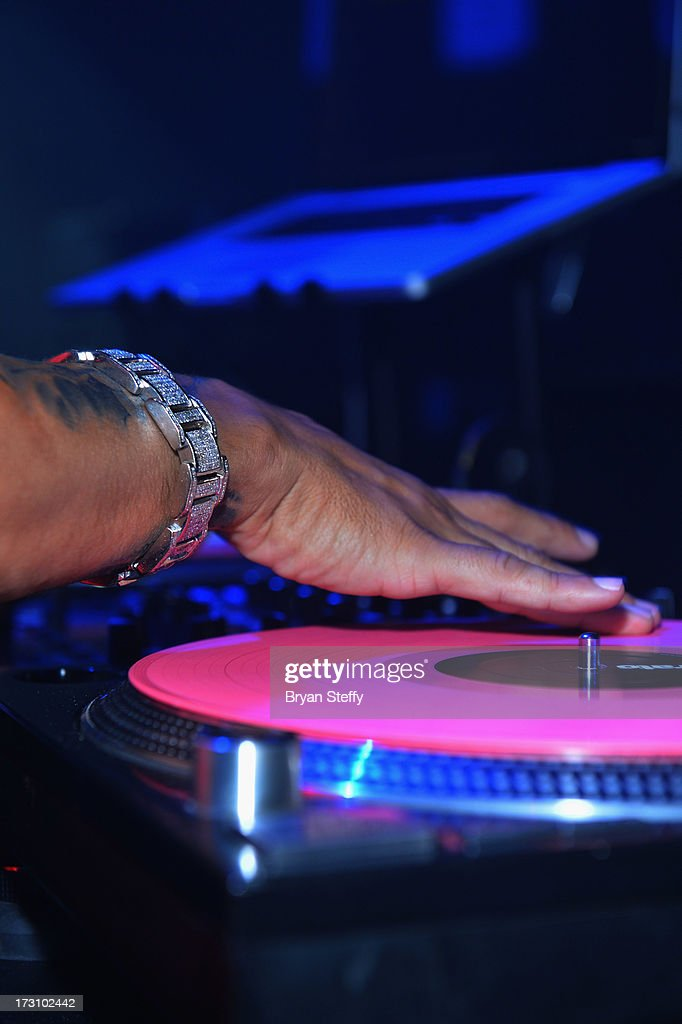 A general view during television personality/DJ Paul 'Pauly D' DelVecchio's performance at Haze Nightclub at the Aria Resort & Casino at City Center in celebration of his 33rd birthday on July 6, 2013 in Las Vegas, Nevada.