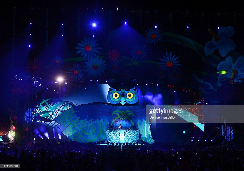 A general view during the 17th annual Electric Daisy Carnival at Las Vegas Motor Speedway on June 21, 2013 in Las Vegas, Nevada.
