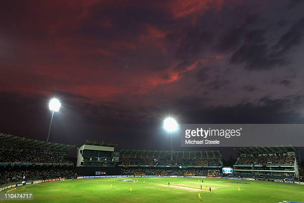 General view during the 2011 ICC World Cup Group A match between Australia and Pakistan at the R Premadasa Stadium on March 19 2011 in Colombo Sri...