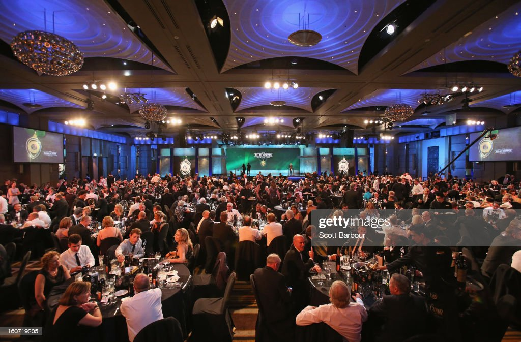 A general view during the 2013 Allan Border Medal awards ceremony at Crown Palladium on February 4, 2013 in Melbourne, Australia.