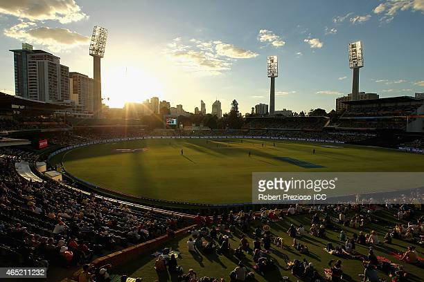 A general view during the 2015 ICC Cricket World match between Australia and Afghanistan at WACA on March 4 2015 in Perth Australia