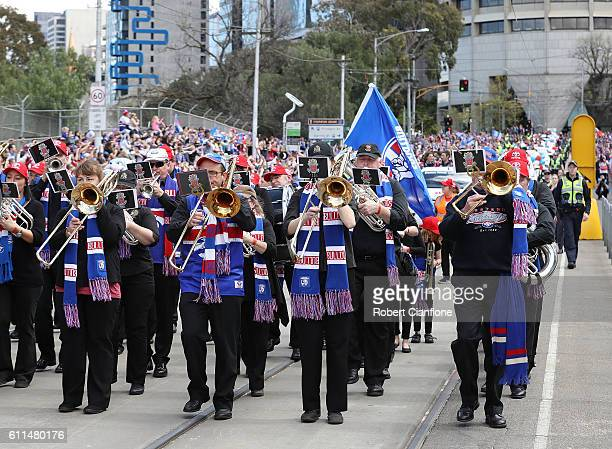 A general view during the 2016 AFL Grand Final Parade on September 30 2016 in Melbourne Australia