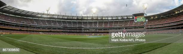 General view during the 2017 AFL Grand Final match between the Adelaide Crows and the Richmond Tigers at the Melbourne Cricket Ground on September 30...