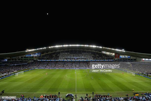A general view during the 2017 ALeague Grand Final match between Sydney FC and the Melbourne Victory at Allianz Stadium on May 7 2017 in Sydney...