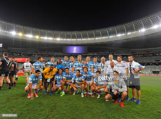 General view during the 2017 HSBC Cape Town Sevens Cup Final match between New Zealand and Argentina at Cape Town Stadium on December 10 2017 in Cape...