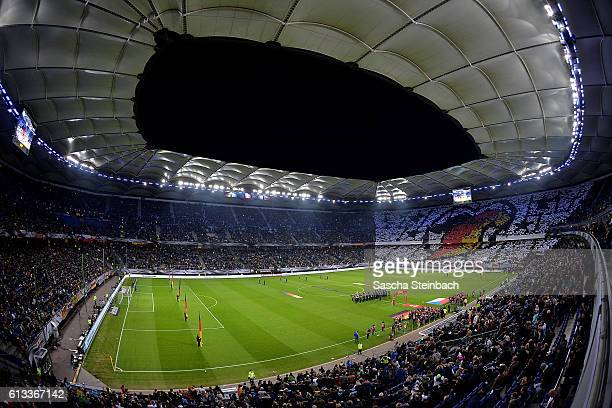 A general view during the 2018 FIFA World Cup Qualifier between Germany and Czech Republic at Volksparkstadion on October 8 2016 in Hamburg Germany