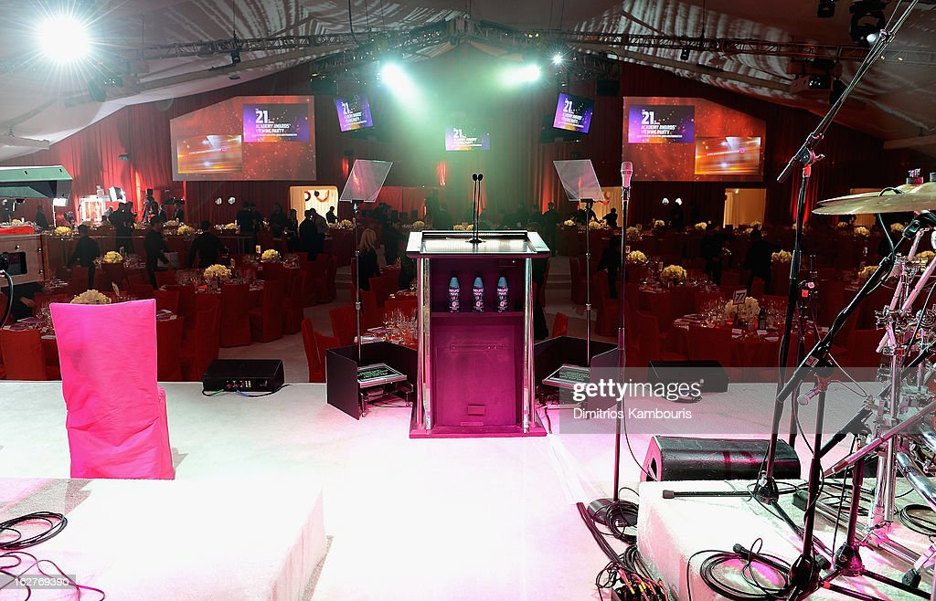 A general view during the 21st Annual Elton John AIDS Foundation Academy Awards Viewing Party at West Hollywood Park on February 24, 2013 in West Hollywood, California.
