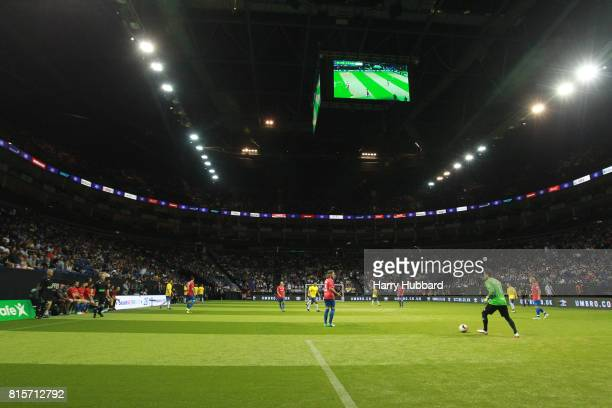 A general view during the 3rd Place Play off Star Sixes match between Spain and Brazil at The O2 Arena on July 16 2017 in London England