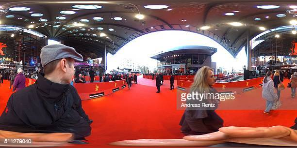 A general view during the 66th Berlinale International Film Festival Berlin at Berlinale Palace on February 19 2016 in Berlin Germany