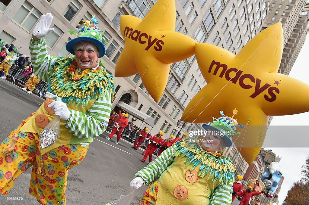 General view during the 88th Annual Macy's Thanksgiving Day Parade on November 27 2014 in New York City