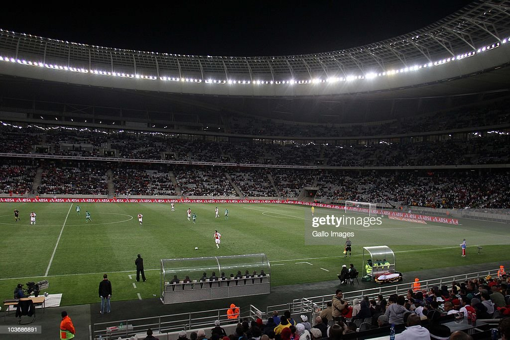 A general view during the Absa Premiership match between Ajax Cape Town and Blomfontein Celtic at Cape Town Stadium on August 27 2010 in Cape Town...