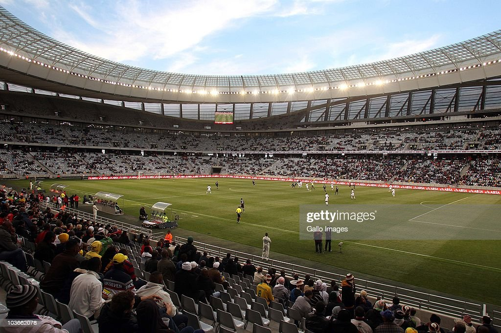 A general view during the Absa Premiership match between Vasco Da Gama and Orlando Pirates at Cape Town Stadium on August 27 2010 in Cape Town South...