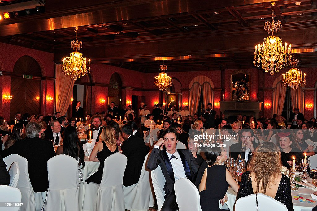 A general view during the ASMALLWORLD Gala Dinner for Alzheimer Society at the Gstaad Palace Hotel on December 15, 2012 in Gstaad, Switzerland.
