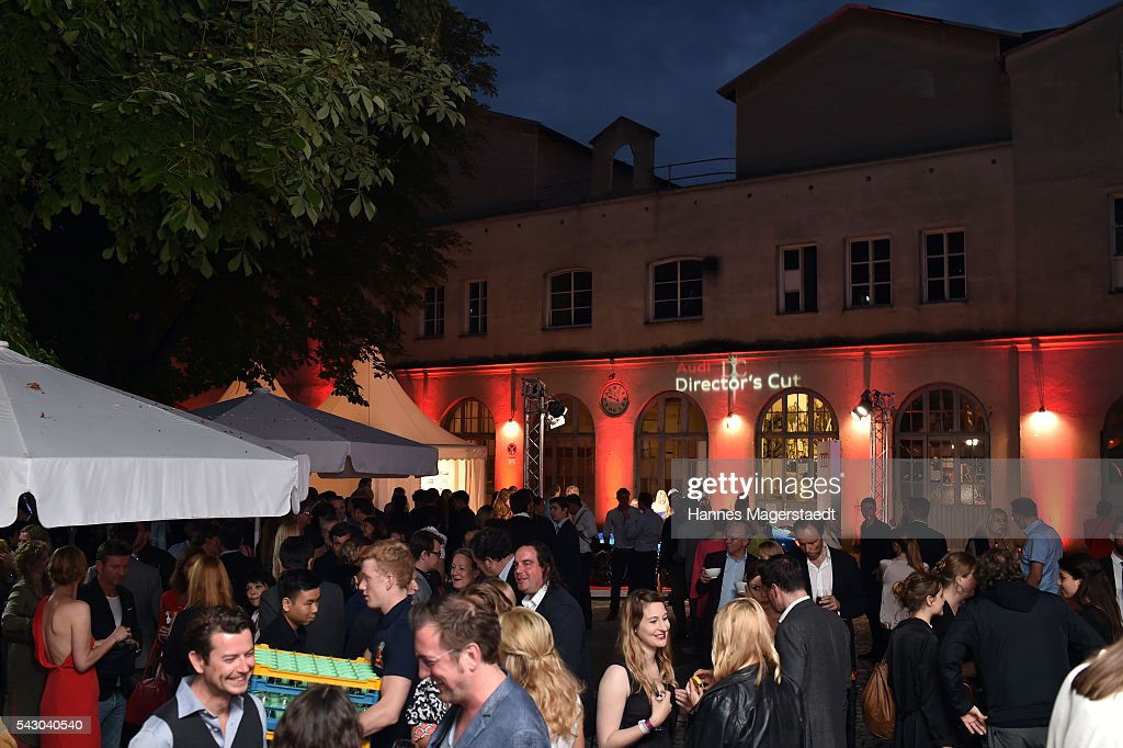 General view during the Audi Director's Cut during the Munich Film Festival 2016 at Praterinsel on June 25, 2016 in Munich, Germany.
