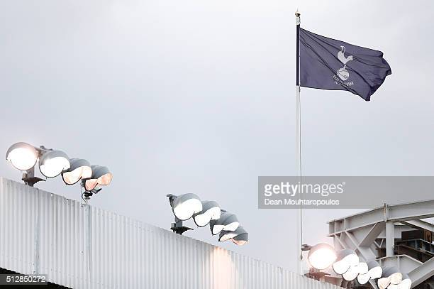 A general view during the Barclays Premier League match between Tottenham Hotspur and Swansea City at White Hart Lane on February 28 2016 in London...