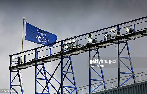 A general view during the Barclays Premier League match between Everton and Sunderland at Goodison Park on May 9 2015 in Liverpool England