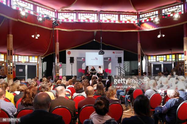 General view during the BRIGITTE LIVE at the Frankfurt Book Fair on October 14 2017 in Frankfurt am Main Germany The 2017 fair which is among the...