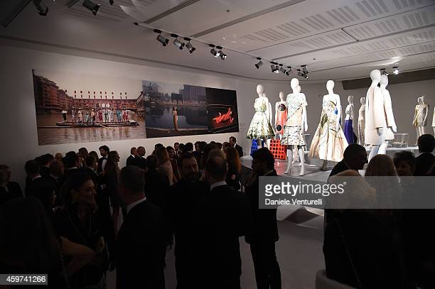 General view during the Bulgari Gala Dinner Exhibition at Maxxi Museum on November 29 2014 in Rome Italy