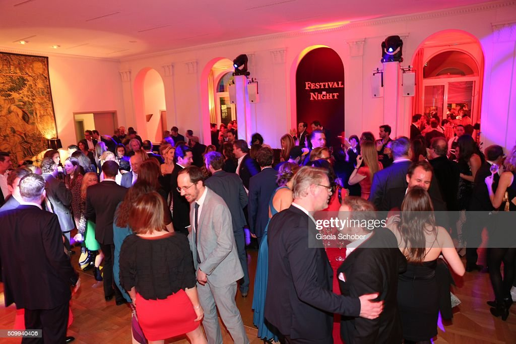 A general view during the Bunte and BMW Festival Night 2016 during the 66th Berlinale International Film Festival Berlin on February 12, 2016 in Berlin, Germany.