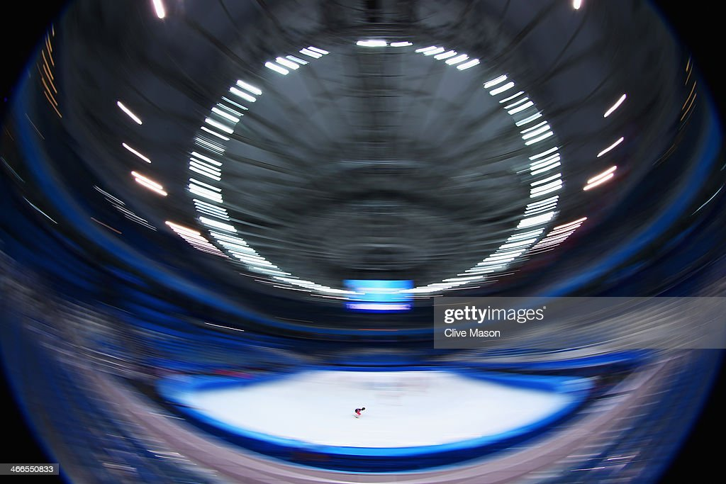 A general view during the Canada Short Track team training session ahead of the Sochi 2014 Winter Olympics at Iceberg Skating Palace on February 2, 2014 in Sochi, Russia.