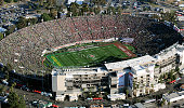 A general view during the College Football Playoff Semifinal at the Rose Bowl Game presented by Northwestern Mutual at the Rose Bowl on January 1...