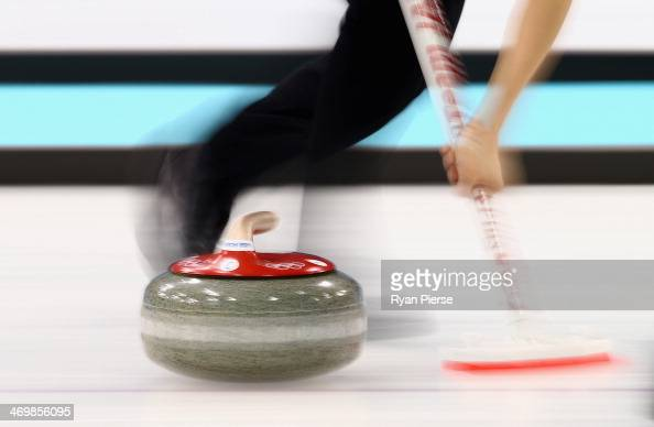 A general view during the Curling Women's Round Robin match between United States and Republic of Korea on day ten of the Sochi 2014 Winter Olympics...