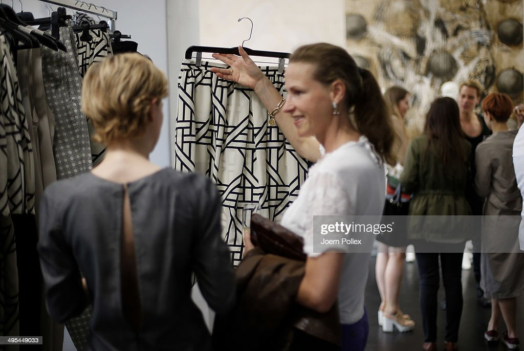 General view during the 'Dawid Tomaszewki Pop-Up Store Opening' on June 3, 2014 in Hamburg, Germany.