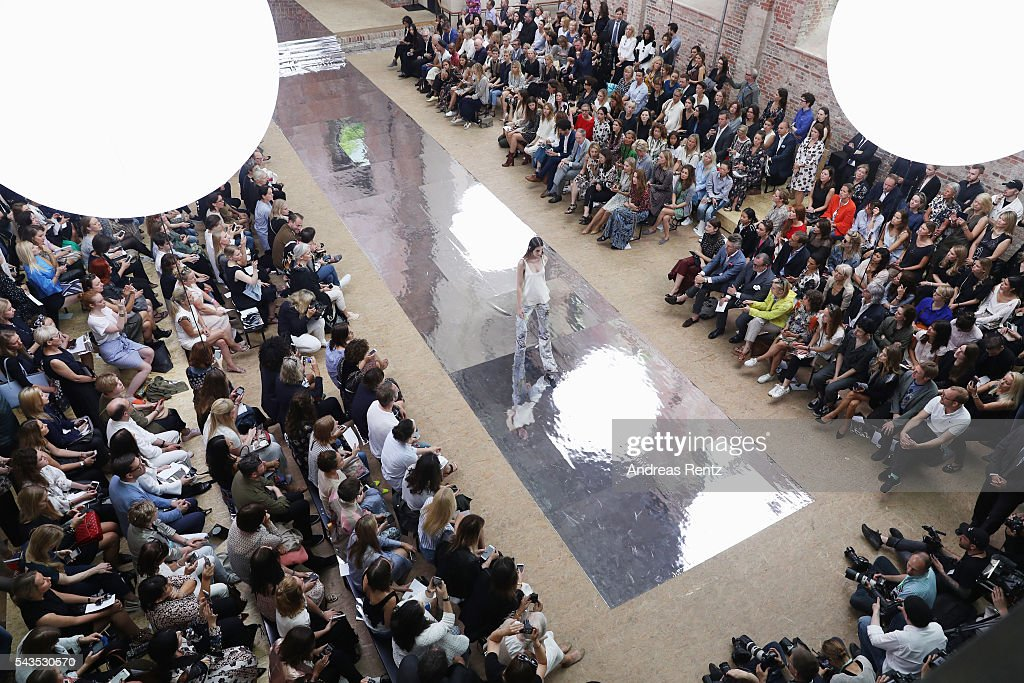 General view during the Dorothee Schumacher show during the Mercedes-Benz Fashion Week Berlin Spring/Summer 2017 at Elisabethkirche on June 29, 2016 in Berlin, Germany.