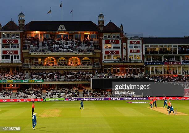 A general view during the England v Sri Lanka T20 match at the Kia Oval Ground on May 20 2014 in London England