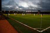 A general view during the FA Cup Third Round match between Cambridge United and Luton Town at the Abbey Stadium on January 3 2015 in Cambridge...