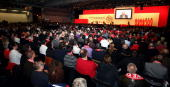 A general view during the FC Bayern Muenchen general meeting at the Neue Messe Munich on November 27 2009 in Munich Germany