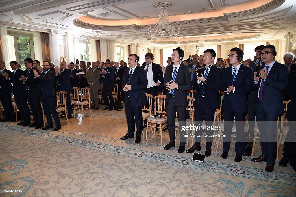 A general view during the FC Internazionale Shareholder's Meeting on June 28, 2016 in Milan, Italy.