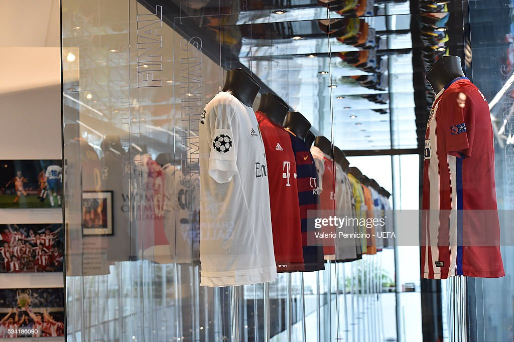 A general view during the Festival Gallery prior to the UEFA Champions League Final at Stadio Giuseppe Meazza on May 25, 2016 in Milan, Italy.
