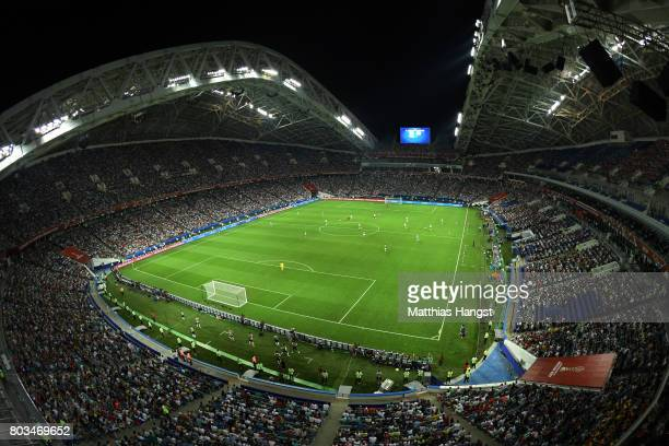 A general view during the FIFA Confederations Cup Russia 2017 SemiFinal between Germany and Mexico at Fisht Olympic Stadium on June 29 2017 in Sochi...