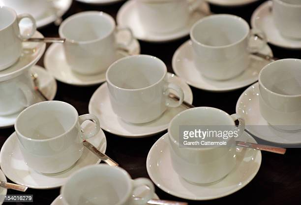 A general view during the Filmmaker Afternoon Tea during the 56th BFI London Film Festival at The Mayfair Hotel on October 12 2012 in London England