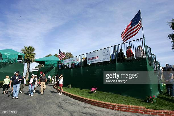 General view during the final round of the PGA Champions Tour Toshiba Classic on March 9 2008 at the Newport Beach Country Club in Newport Beach...