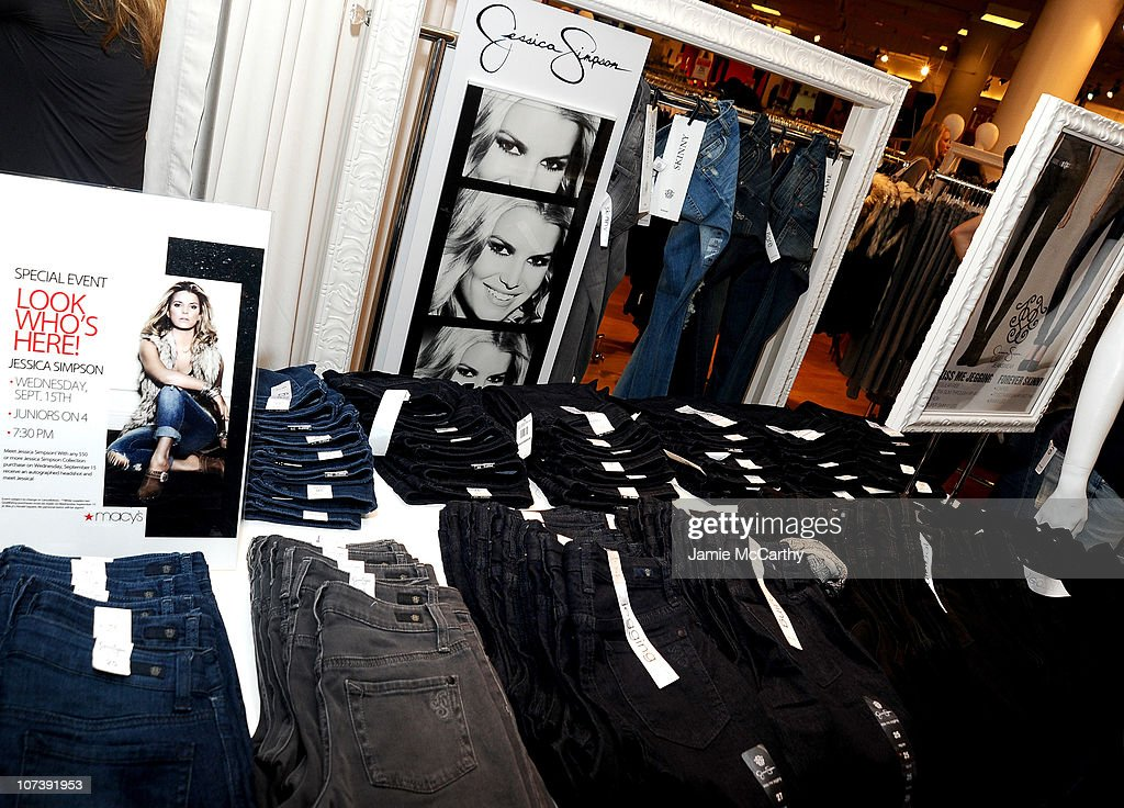 A general view during the Find Your Magic at Macy's Jessica Simpson Collection in-store event at Macy's Herald Square on September 15, 2010 in New York City.
