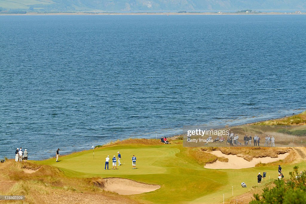 General View during the first round of the Aberdeen Asset Management Scottish Open at Castle Stuart Golf Links on July 11, 2013 in Inverness, Scotland.