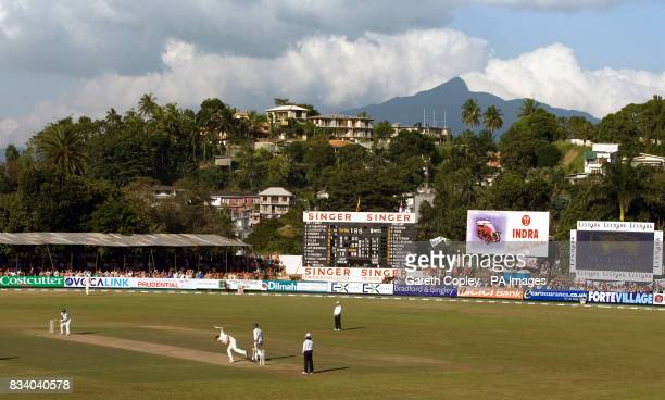 General view during the first Test match between England and Sri Lanka during the First Test at the Asgiriya International Stadium Kandy Sri Lanka