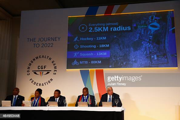 A general view during the formal bid from Durban South Africa to host the 2022 Commonwealth Games at Mansion House on March 2 2015 in London England