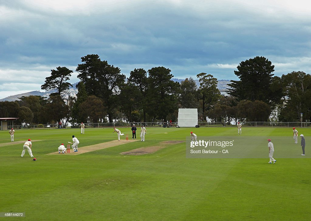 Lindisfarne Australia  city images : ... Australia at Lindisfarne Oval on October 30, 2014 in Hobart, Australia