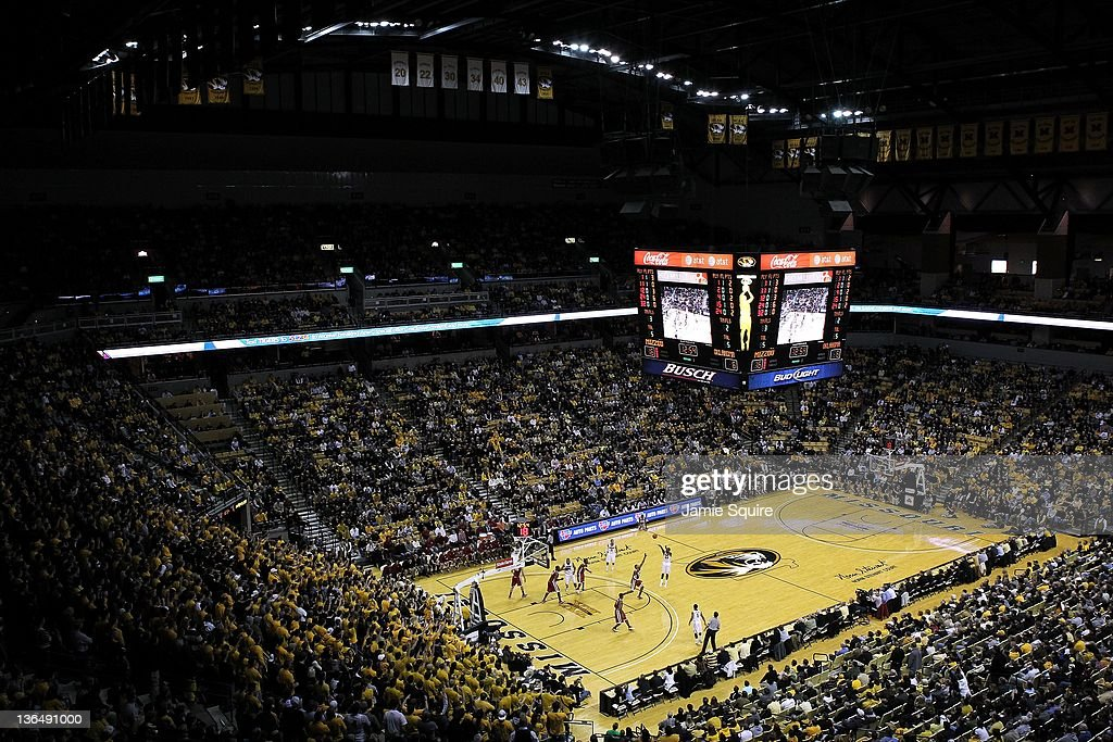 General view during the game between the Oklahoma Sooners and the Missouri Tigers on January 3 2012 at Mizzou Arena in Columbia Missouri