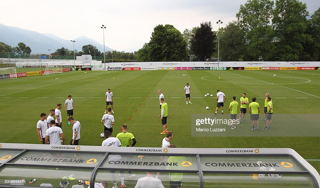 A general view during the German national team's pre-EURO 2016 training camp on May 28, 2016 in Ascona, Switzerland.
