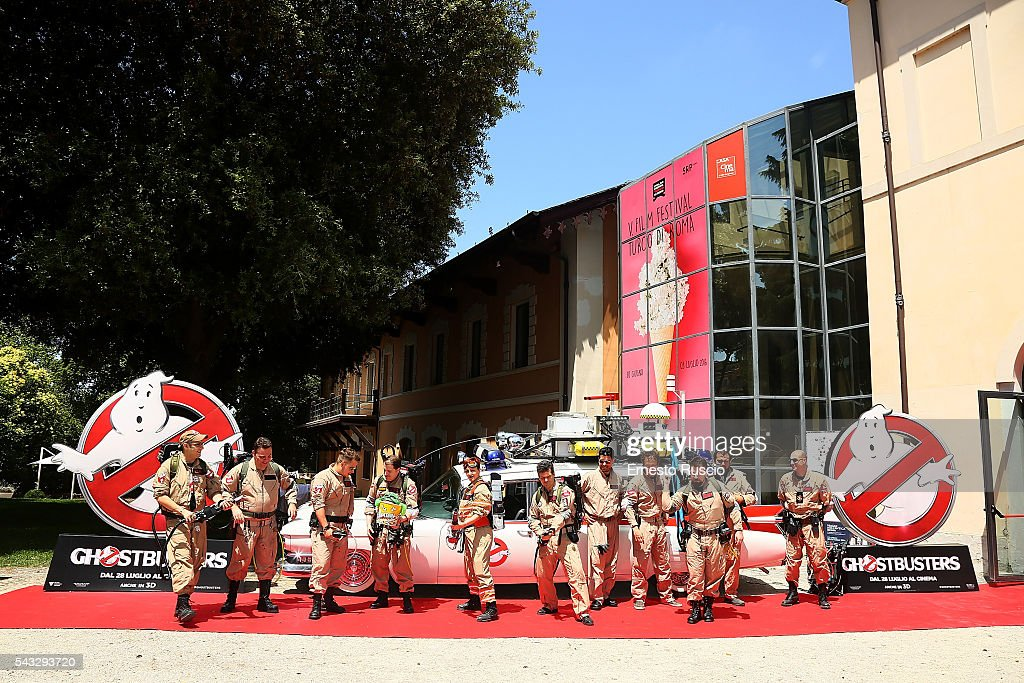 General view during the 'Ghostbusters' photocall at La Casa Del Cinema on June 27, 2016 in Rome, Italy.