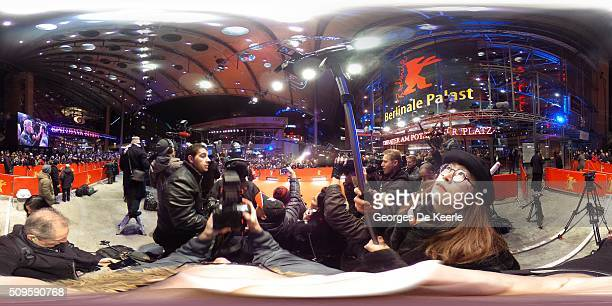 A general view during the 'Hail Caesar' premiere during the 66th Berlinale International Film Festival Berlin at Berlinale Palace on February 11 2016...